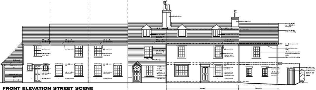 Extension to Grade II Listed house – Sevenoaks area