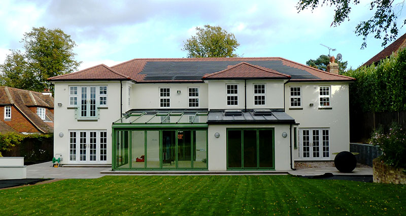 Contemporary renovation & extension – Sevenoaks