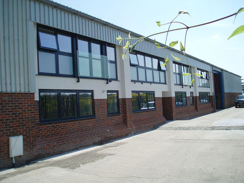Conversion of warehouse to office space – Swanley