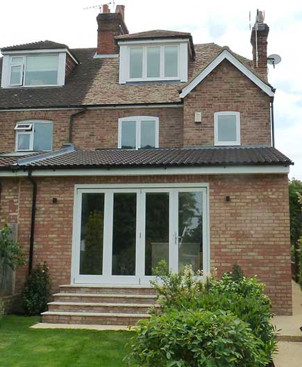 Renovation of 1930's house with loft conversion & ground floor extension – Sevenoaks